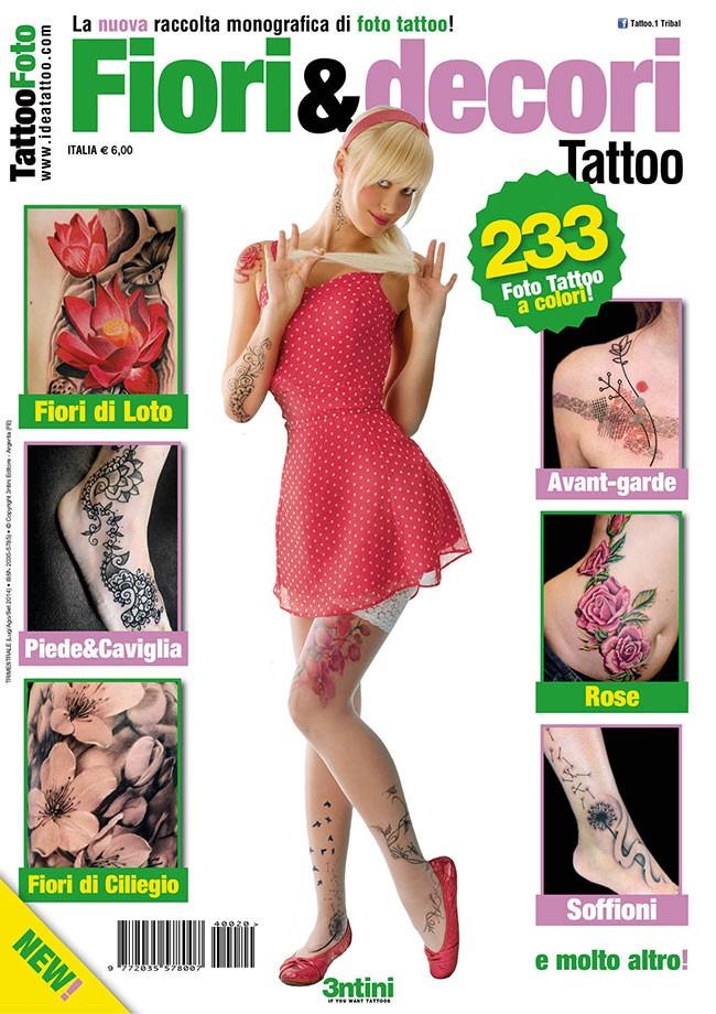Tattoo Foto 20: Flores Y Decoraciones