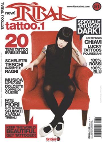 Tattoo1 Tribal N.51 Agosto/septiembre 2009