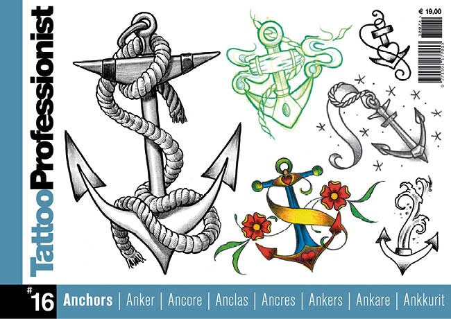 Tattoo Professionist 16 - Ancres