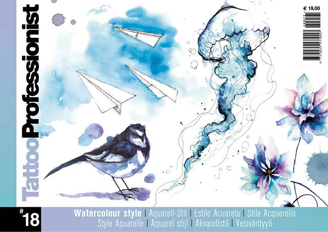 Tattoo Professionist 18 - Style Aquarelle