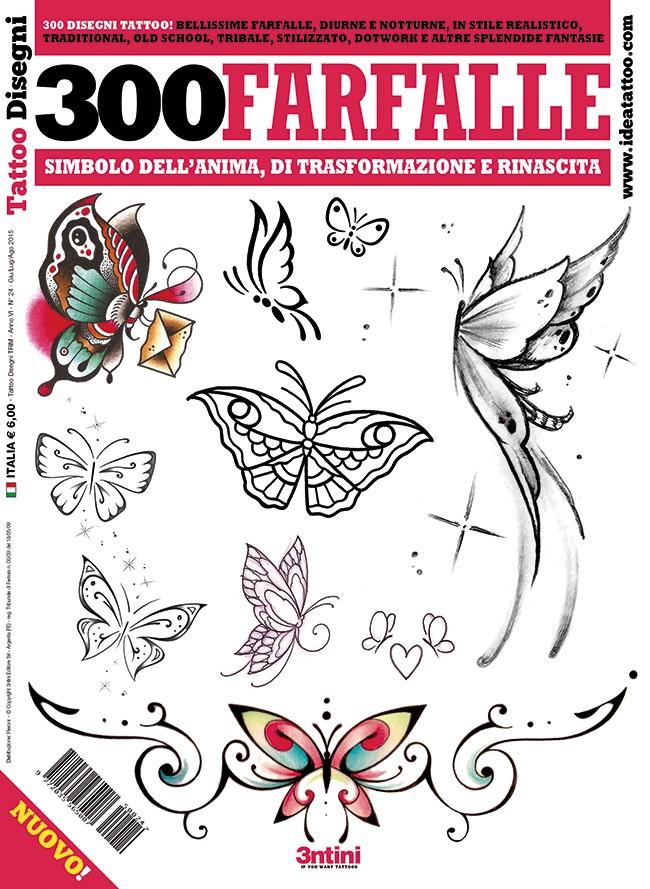 300 Papillons