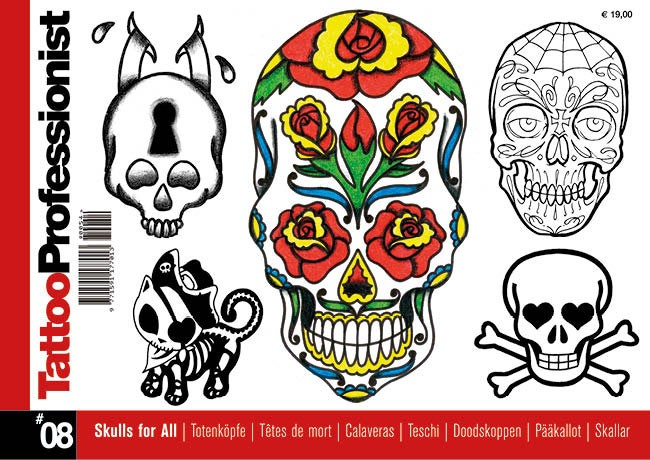 Tattoo Professionist 8 - Têtes De Mort