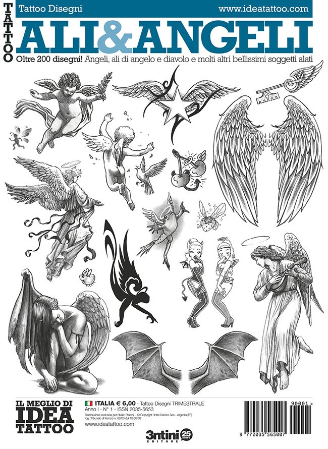 Ailes Et Anges Tattoo