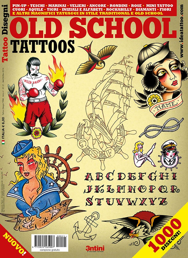Tatouages Old School - Dessins Tattoo