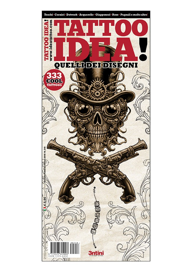 Idea Tattoo 218 Janvier / Février / Mars