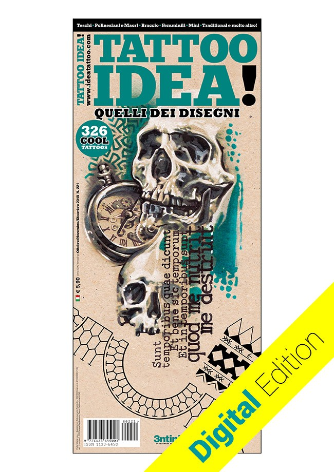 Idea Tattoo 221 Octobre / Novembre / Décembre 2018 [digital edition]