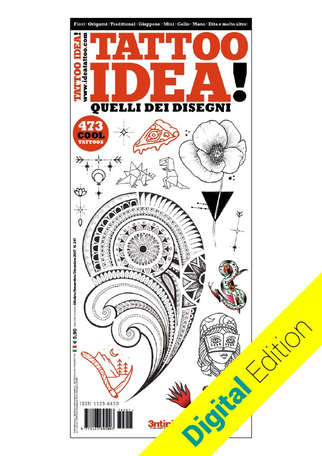 Idea Tattoo 217 Octobre / Novembre / Décembre 2017 [digital edition]