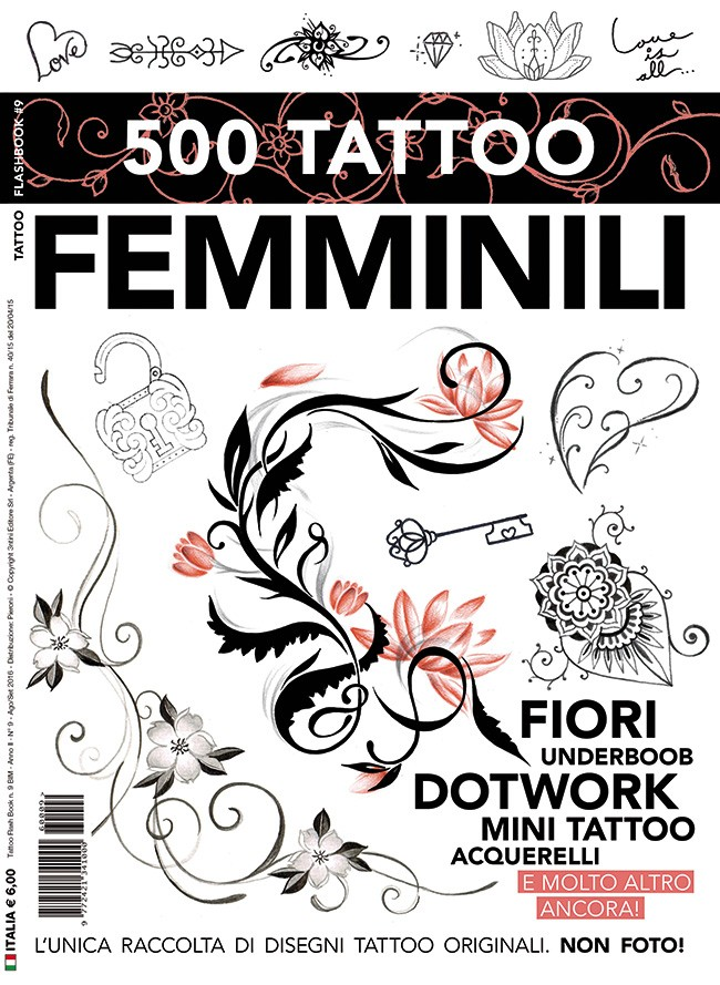 500 Tatouages féminins