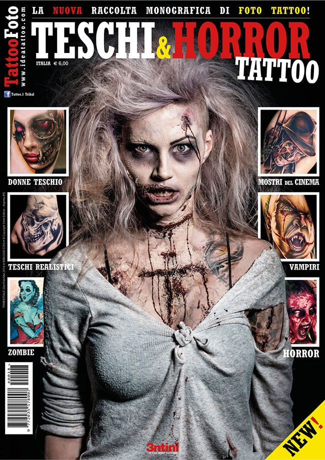 Tattoo Photo 18 : Têtes De Mort Et Horreur