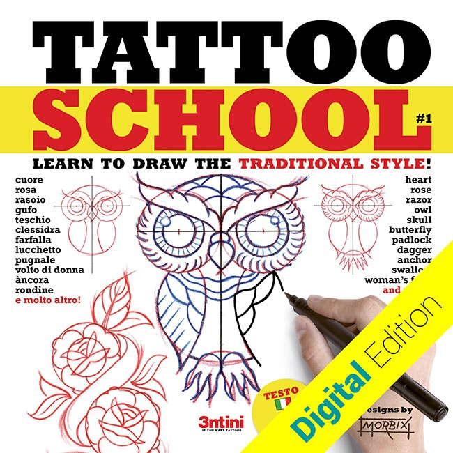 Tattoo School 1 : Style traditionnel [digital edition]