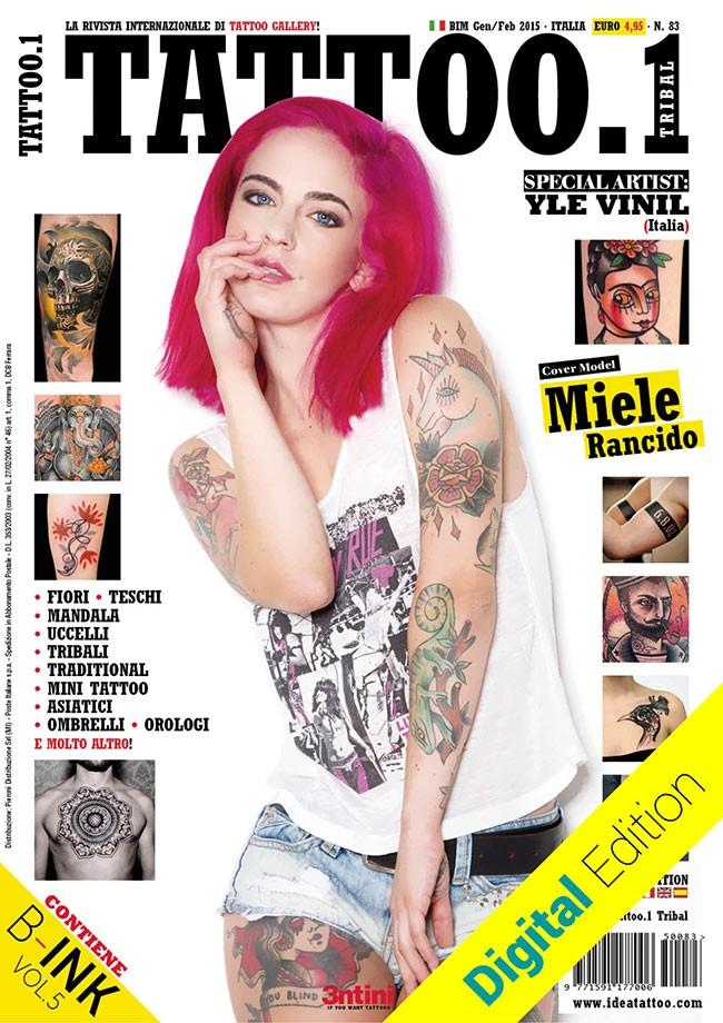 Tattoo.1 Tribal 83 Jan / Fév 2015