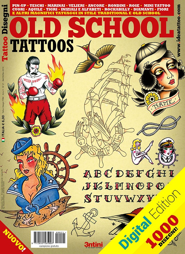 Tatouages Old School