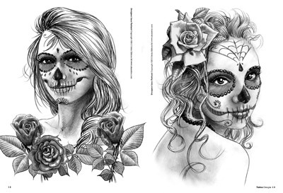 Femmes Tête De Mort