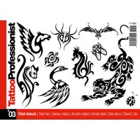 Tattoo Professionist 3 - Animaux Tribaux