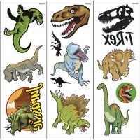 Tatouages Transferts de Dinosaures 2