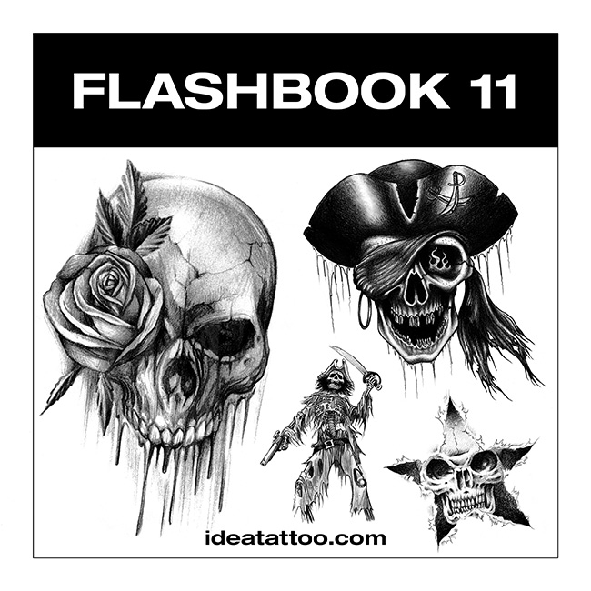 flashbook nuove cover 11 Disegni Tattoo   Horror