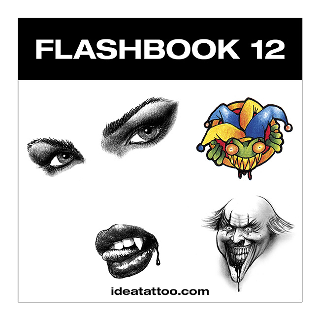 flashbook nuove cover 12 Disegni Tattoo   Horror