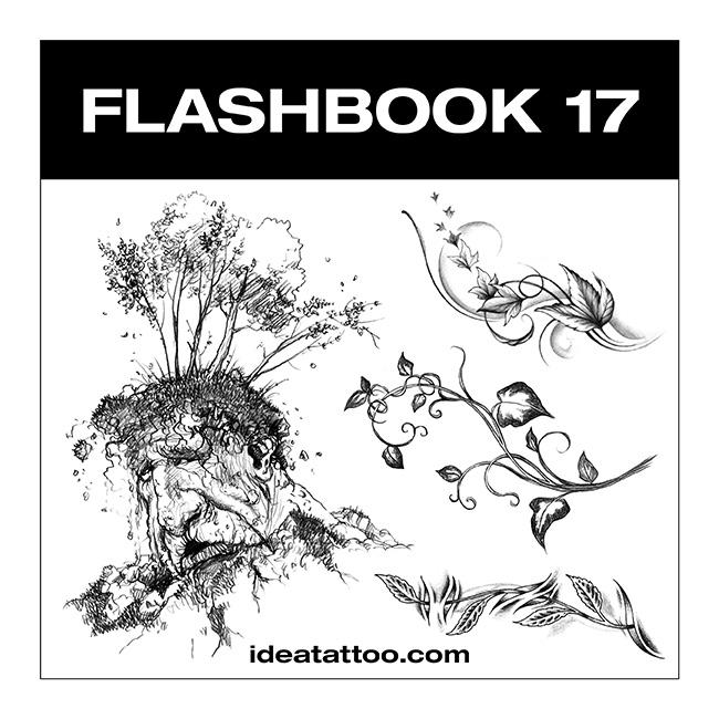 flashbook nuove cover 17 Disegni Tattoo   Fiori