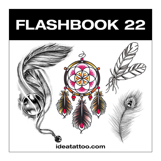 flashbook nuove cover 22 Tattoo flash   Rondini