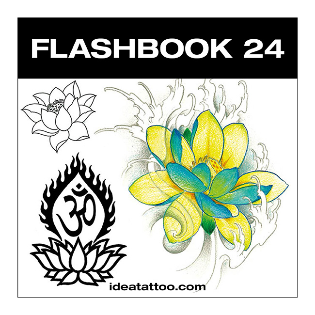 flashbook nuove cover 24 Disegni Tattoo   Fiori