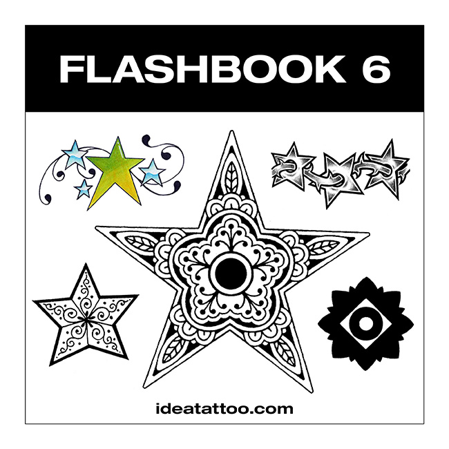 flashbook nuove cover 6 Draw a nautical star with a ship's helm