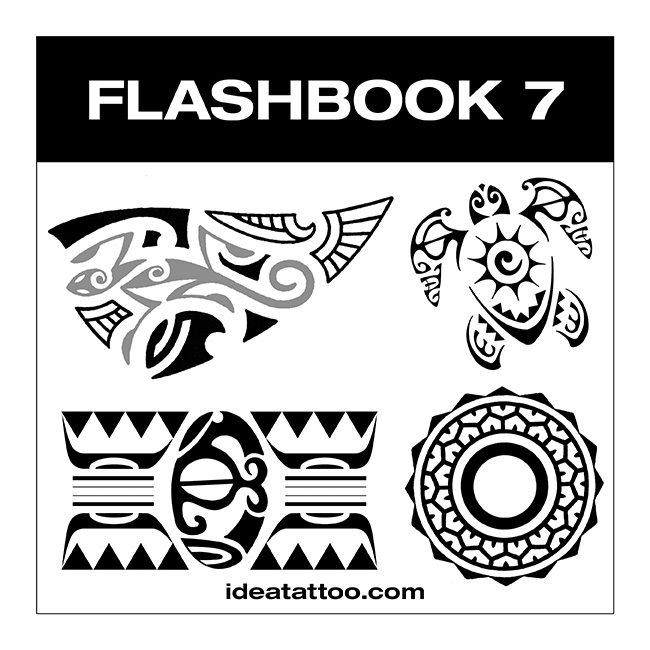 flashbook nuove cover 7 Disegni Tattoo   Animali Tribali
