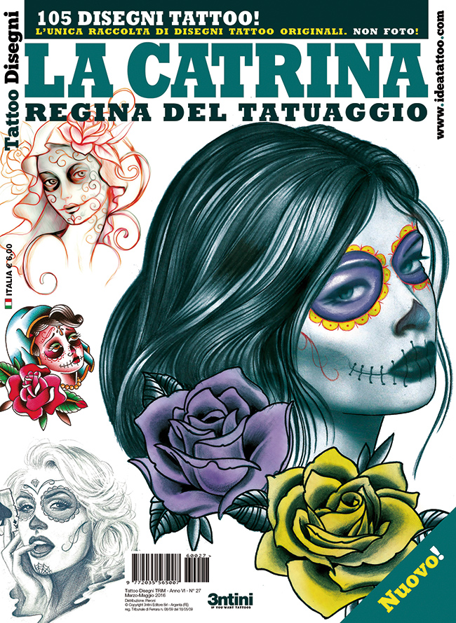 tattoo disegni 27 la catrina cover Disegni Tattoo   La Catrina