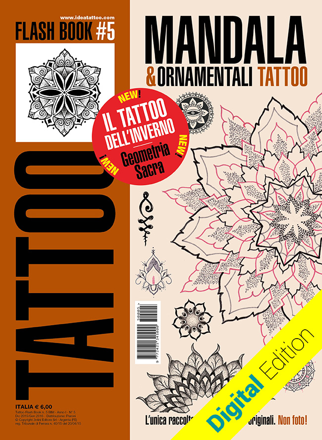 tattoo flash 5 mandala cover dig Disegni Tattoo   Mandala