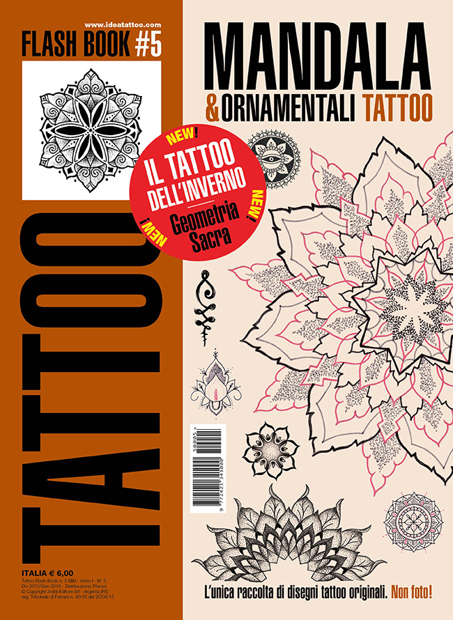tattoo flash 5 mandala cover Disegni Tattoo   Mandala