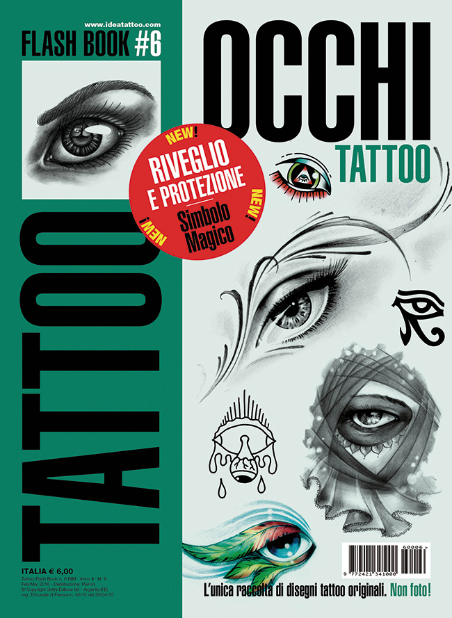 tattoo flash 6 occhi cover Meaning and symbolism of the eye in the tattoo history
