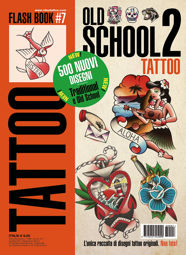 tattoo flash 7 old school 2 cover Disegni Tattoo   Old School