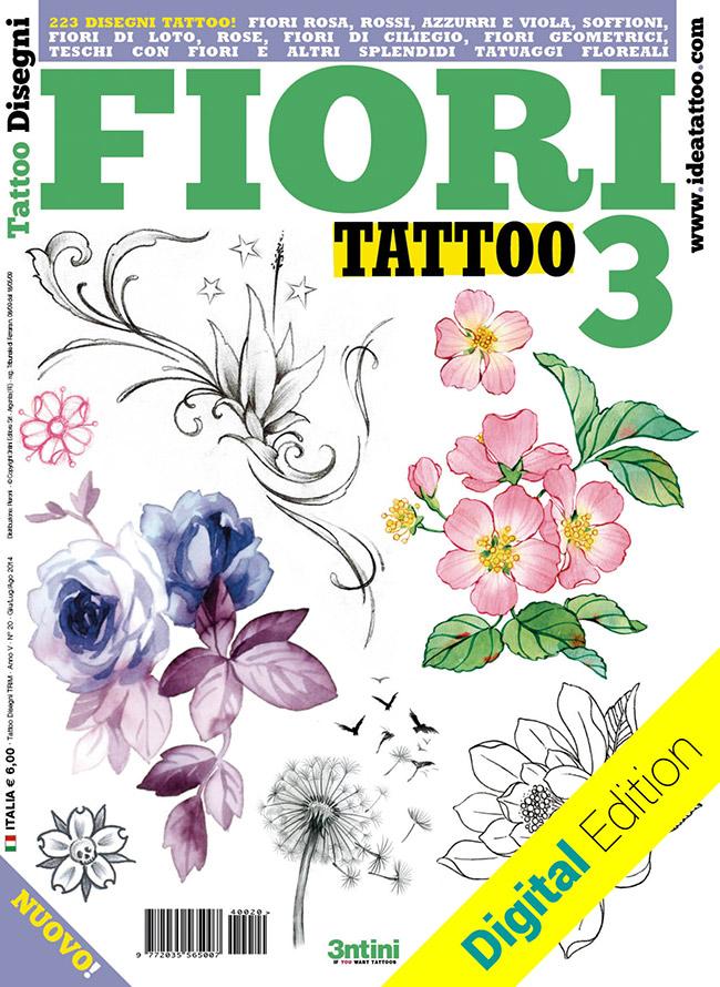 tattoo disegni fiori flower3 Disegni Tattoo   Fiori