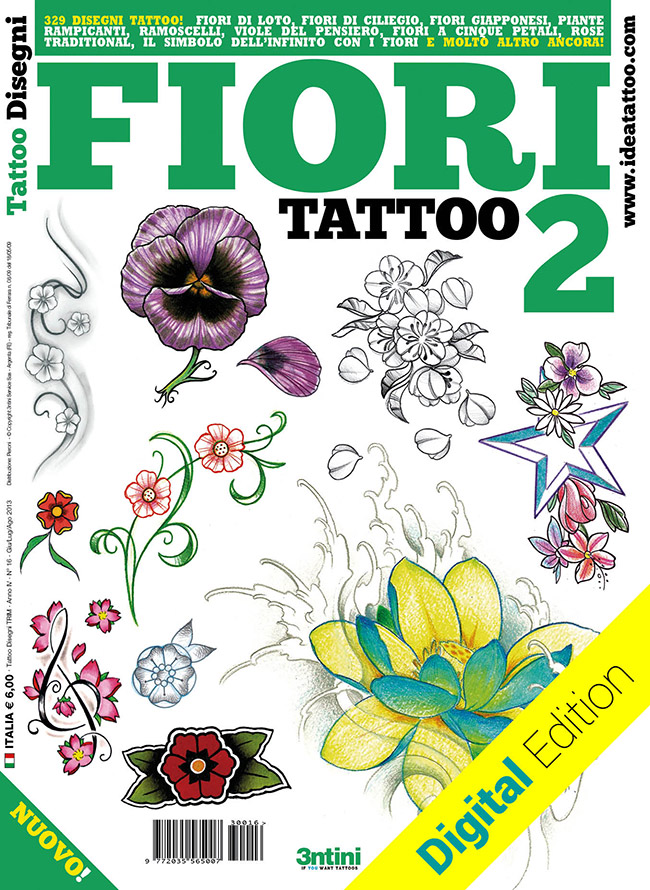 tattoo disegni flower fiori2 Disegni Tattoo   Fiori
