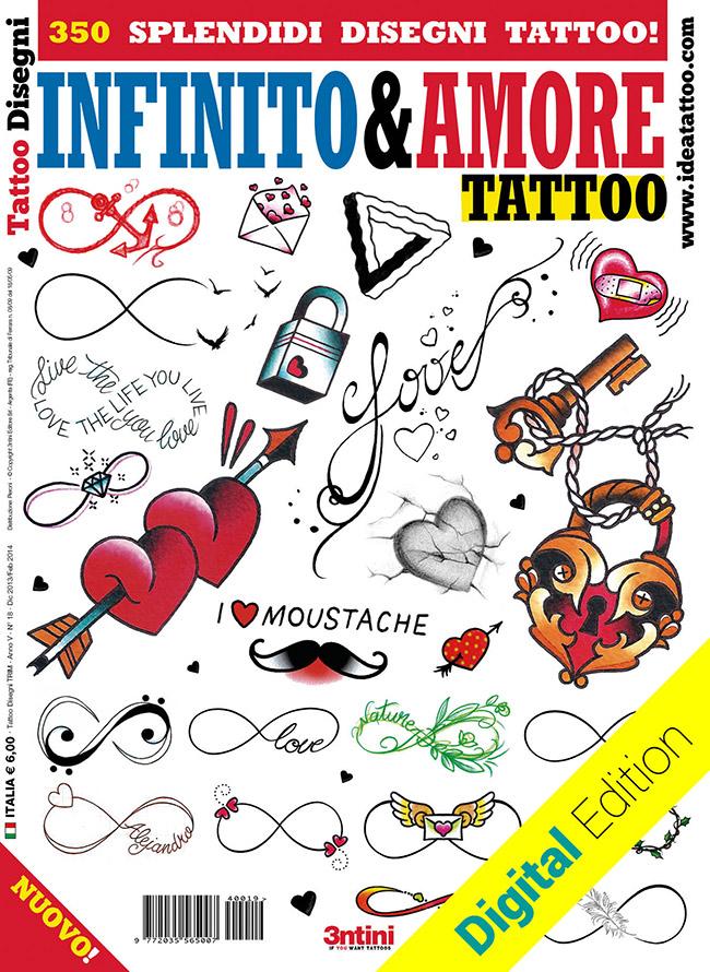 tattoo disegni infinito amore love Disegni tattoo   Infinito