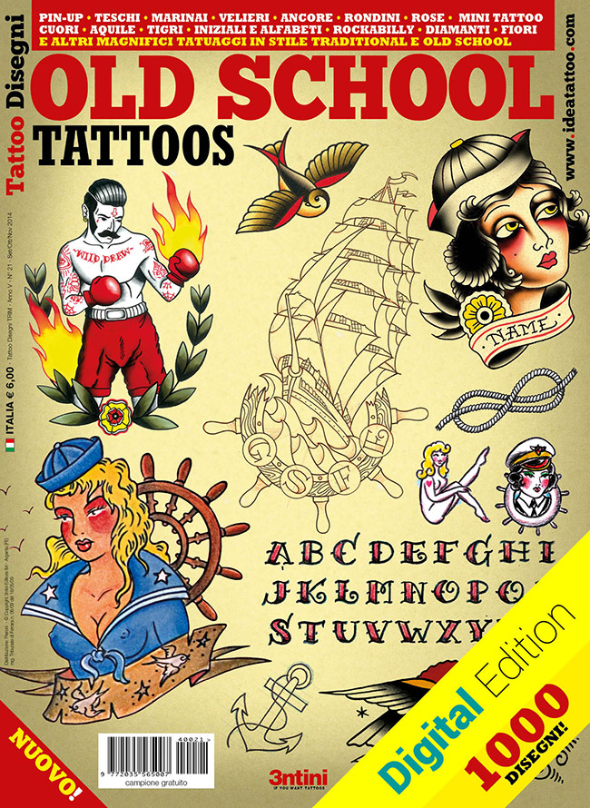 tattoo disegni oldschool traditional Disegni Tattoo   Old School