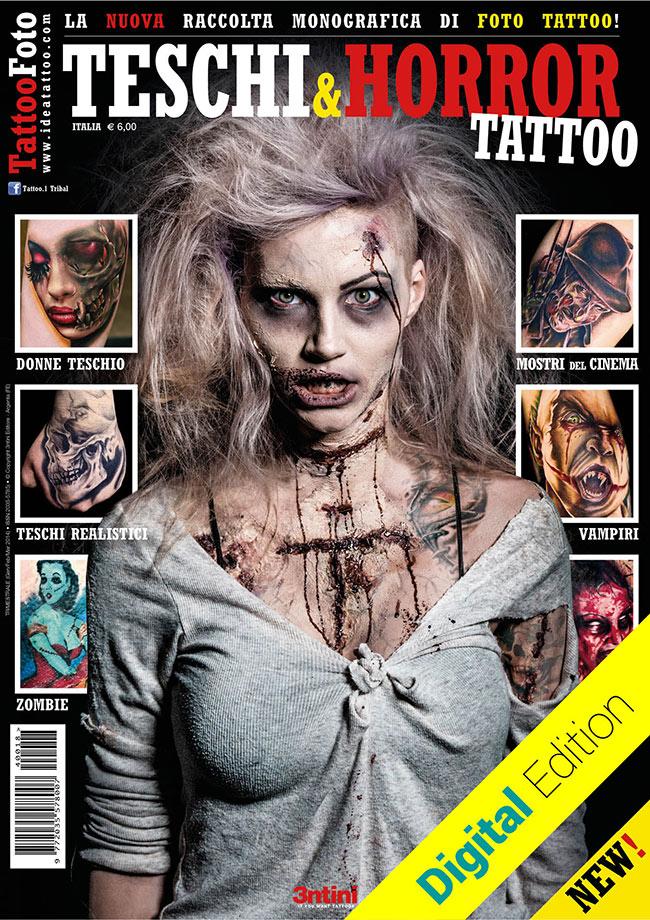 tattoo foto skull horror teschi Disegni Tattoo   Zombie