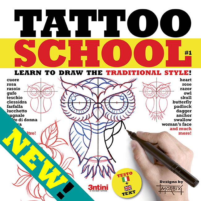tatttoo school new Draw your own tattoo: Heart and dagger